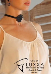 Necklace OZE by Luxxa Bella guipure