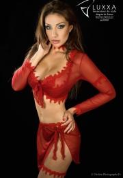 Luxxa lingerie rouge pour soir�e sensuelles