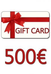 GIFT CARD 500 €