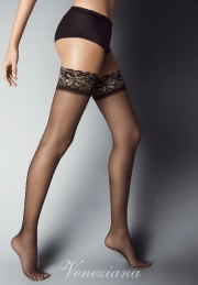 Garter Stockings Veneziana AR LUREX 20